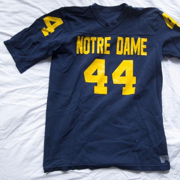 1ba1de3dd Vintage Notre Dame Fighting Irish Football Jersey.  M 5a8ce66dcaab443002fd537f
